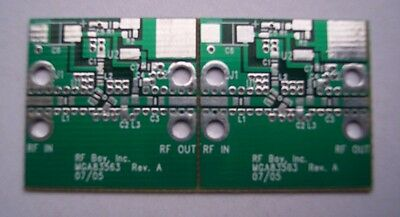 Develop Pcb Agilent 0.5-6ghz 22dbm Mmic Amplifier Mga-83563 2pcs