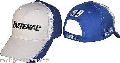 Carl Edwards  99 Fastenal Fan Up Hat New By Cfs W Tags Nascar Free Ship