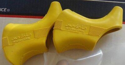 1 PAIR NOS MODOLO 919 Anatomic Brake Hoods NOS fit Campagnolo  L/'Eroica  One set