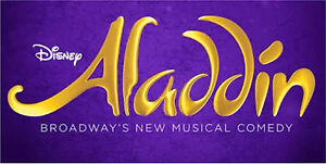 3x Tickets to Aladdin The Musical Melbourne Sat 01 July  2017 2:00pm Wodonga Wodonga Area Preview