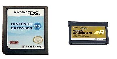 Nintendo Browser W Memory Expansion Pak For Ds   Ds Lite   Us Seller
