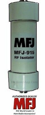 MFJ 915, 1 to 1 Current Balun, RF Isolator, 1.8 - 30MHZ, 1500 Watts PEP, 50 Ohm