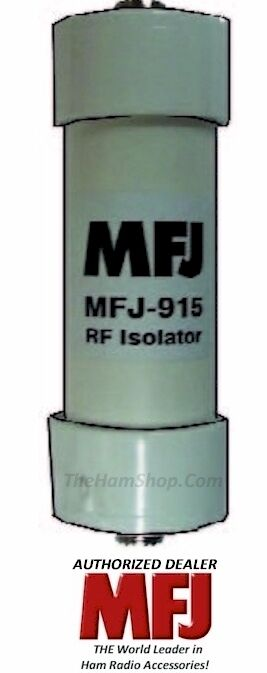 MFJ Enterprises Original MFJ-915 RF Isolator 1.8-30 MHz, 150