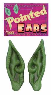 ALIEN EARS HALLOWEEN ACCESSORIES