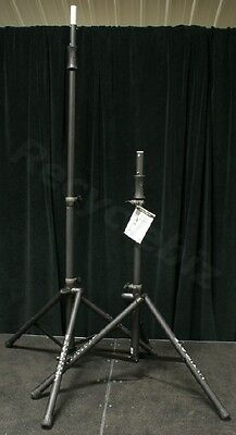 New Pair Ultimate Support TS-100B Speaker Stands TS100 & BAG90D Carry Bag Promo! for sale  Shipping to India