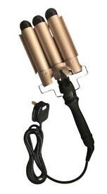 Triple Barrel XL Pro Hair Waver - NEW