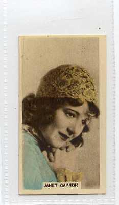 (Jb8481-100)  CAVANDERS,CINEMA STARS,JANET GAYNOR,1934#11
