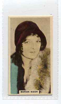 (Jb8493-100)  CAVANDERS,CINEMA STARS,MARION NIXON,1934#17