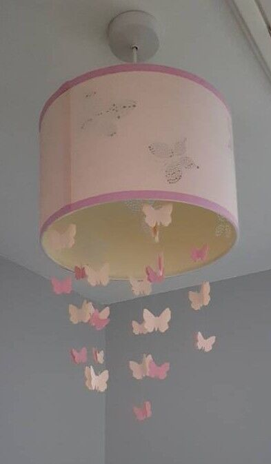 Laura Ashley butterfly lampshade
