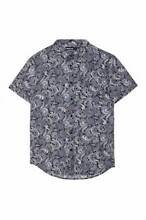 SMALL Psychedelic 60's Paisley Metro Dangerfield Men's Button-up Prospect Prospect Area Preview