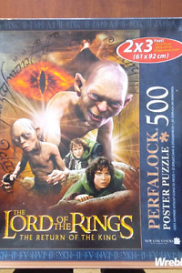 500 piece Lord of the Rings Puzzle