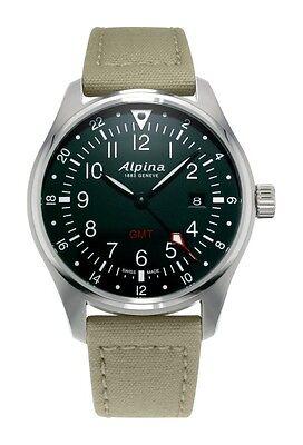 AL-247B4S6 Alpina Startimer Collection Startimer Pilot Quartz GMT Swiss Watch
