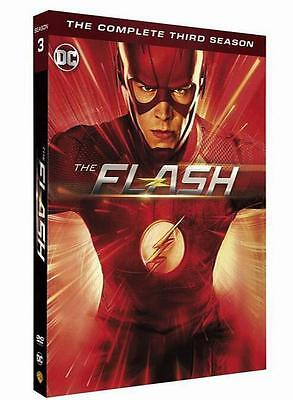 The Flash: Complete Season 3 (DVD, 2017, 5-Disc Set)