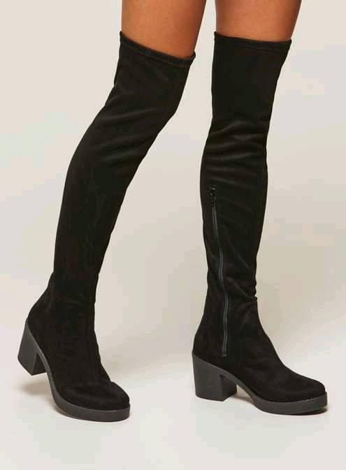Over knee boots size 8 (miss Selfridge) size 8