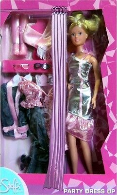 Steffi love Party Dress Up Puppe Kleidung Set Zubehör SIMBA® NEU OVP