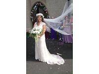 Maggie sottero wedding dress size 14-16
