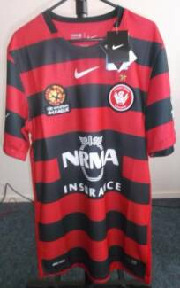 WESTERN SYDNEY WANDERERS FC 2015/16 OFFICIAL NIKE HOME JERSEY