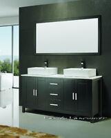 ⎷⎛Contemporary Bathroom Vanity & Cabinet Blazing Jewel BB60S/D