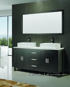 ⎷⎛Contemporary Bathroom Vanity & Cabinet Blazing Jewel BB60D