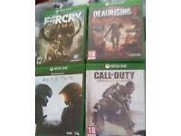 Games xbox one Halo5,Farcry primal,call of duty advanced warfare,Dead Rising4(juegos xbox one)