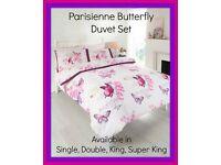 Butterfly duvet sets