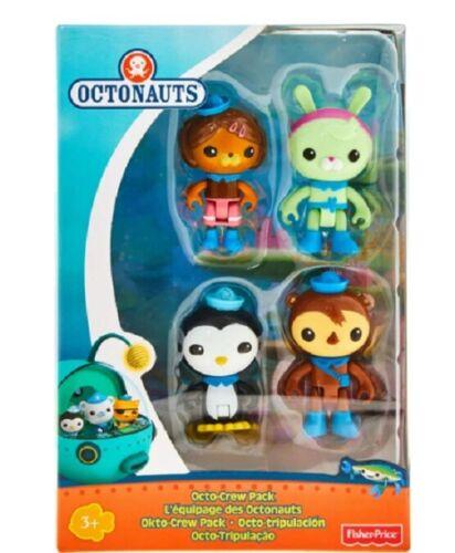 Fisher-Price Octonauts Explore Octo-Crew 4 Figure Pack - NEW