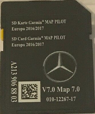 carte sd gps mercedes star2 garmin map pilot europe 2017. Black Bedroom Furniture Sets. Home Design Ideas