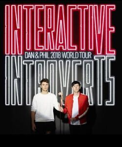 1 free Dan & Phil ticket for July 17!