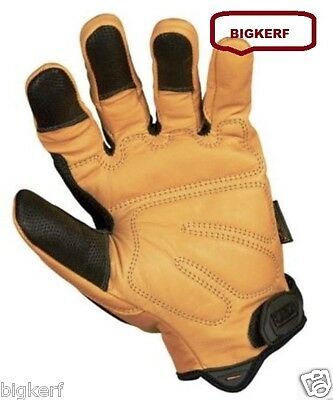 GLOVES  MECHANIX WEAR ALL LEATHER  WORK - SPORT - RIDING   MEDIUM  CG50-75-009