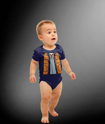 Baby McFly Time Traveler Halloween Costume Cosplay Bodysuit ](Time Travel Halloween Costumes)
