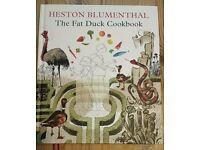 Fat duck cookbook-signed!