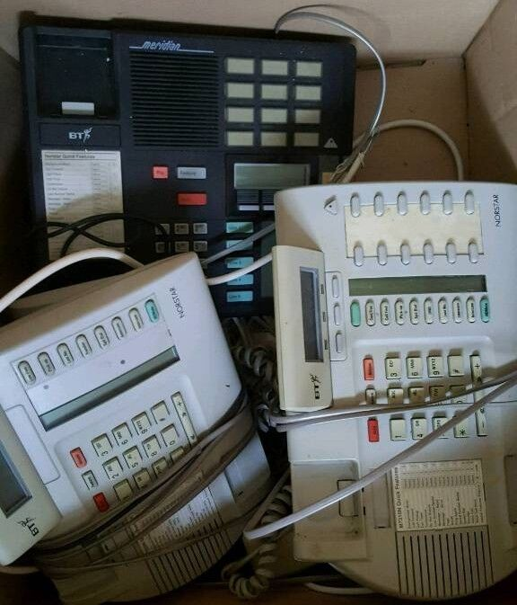 Norstar / Meridian Phone terminals
