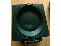 2 x Wharfedale Speakers Home Cinema Tweeters Black Small