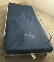 Electric Hospital bed and wheelchair (pre own)