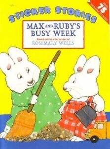 Max and Ruby's Busy Week-ExLibrary