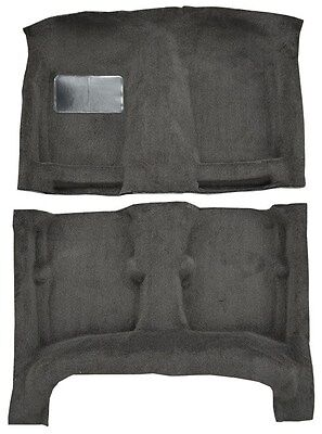 Replacement Carpet for 84-87 Toyota Corolla 4 DR Sedan w/o Heat Vents Under Seat