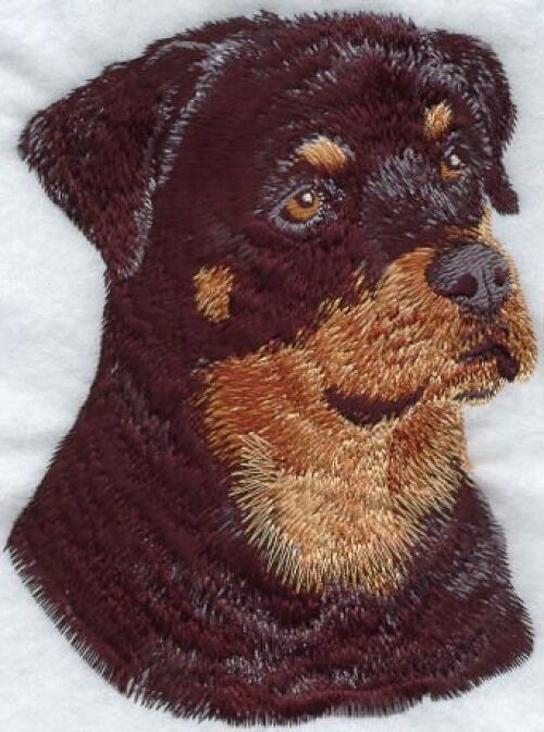 Embroidered Ladies Fleece Jacket - Rottweiler I1032 Sizes S - XXL
