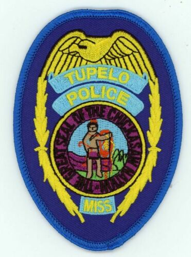 TUPELPO POLICE MISSISSISSIPPI MS NEW PATCH SHERIFF STYLE 3