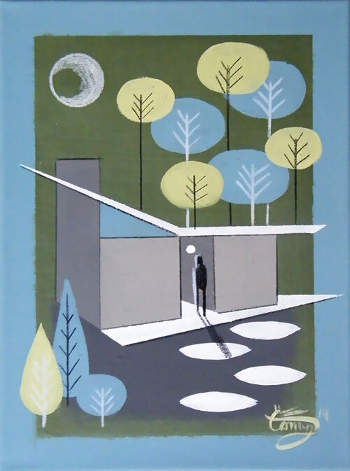 Mid Century Modern Wall Art 5 essential mid-century modern decor accents | ebay