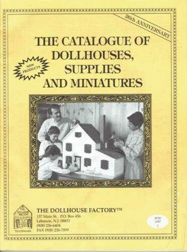 1997 The Dollhouse Factory Catalogue of Dollhouses Supplies Miniatures