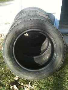 *Reduced* 4 Hankook Winter ipike RSV Winter Tires Peterborough Peterborough Area image 1