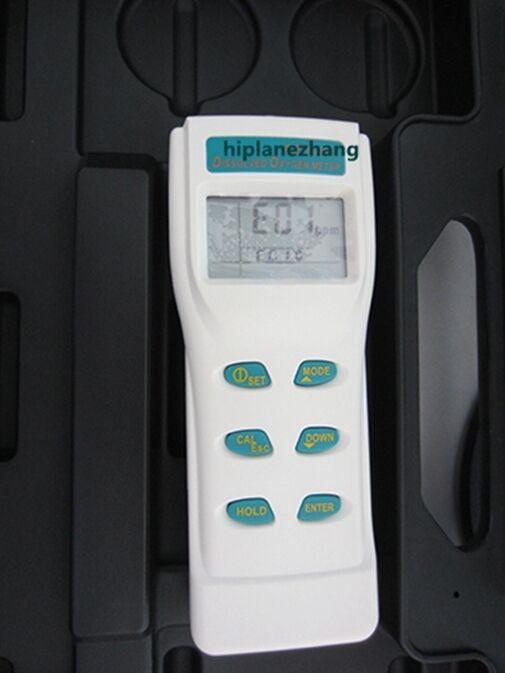 Handheld Dissolved Oxygen Meter Manual Salinity & Barometric Compensation 8402