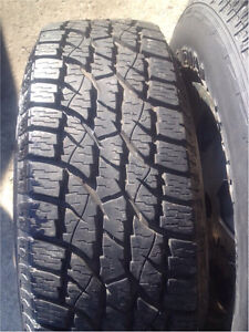 Wild Country 235/75R15 on 5 Bolt Rims