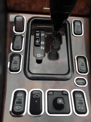 D Mercedes CLK W208 Chrom Rahmen für Schalter Konsole - Edelstahl poliert
