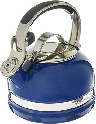 KITCHENAID 2-Qt Porcelain Enamel Tea Kettle  KTEN20SBDB Doulton Blue NEW