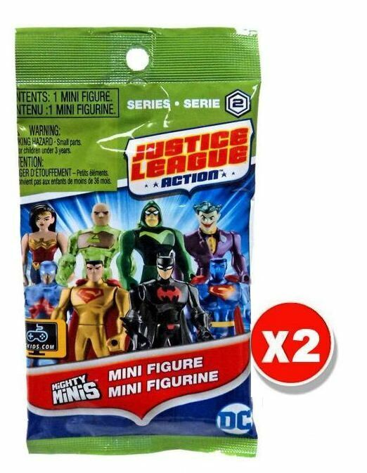 Justice League Mighty Minis Mini Figure Blind Bag Series 2