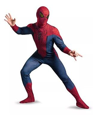 Amazing Spider-Man Deluxe Costume Jumpsuit Adult XX-Large 50-52