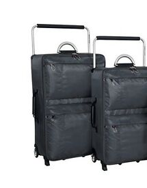 IT Worlds lightest luggage TWO CASES £40 FOR BOTH
