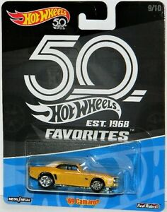 Hot Wheels 1/64 '69 Camaro Diecast Car