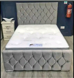 !! BRAND NEW DIVAN BEDS WITH MATTRESS & HEADBOARD + FREE DELIVERY!!